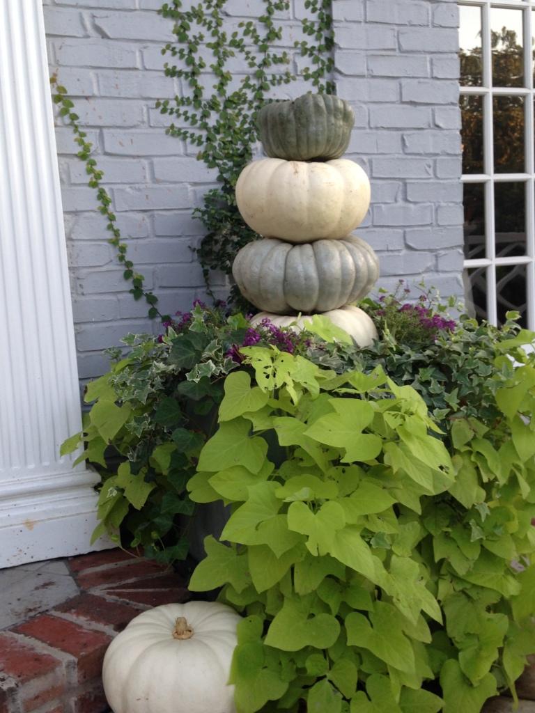 Pumpkin stacks