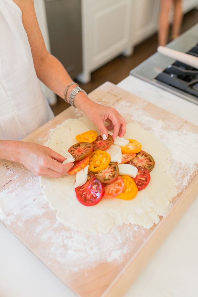 Heirloom Tomato Galette, Gluten Free Pie Crust, Tomato Pie, Caprese Pizza, Dallas Fashion Blog, Dallas Lifestyle Blog, Dallas Food Blog