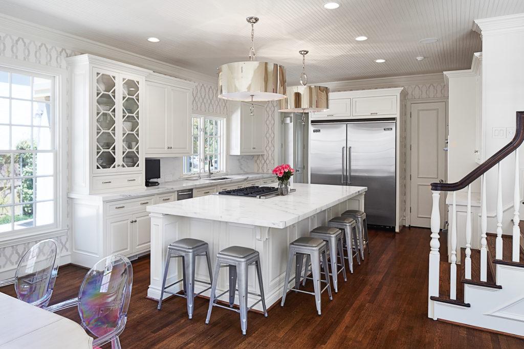 White Kitchen, Dallas Home Tour, Bloggers at Home, Alicia Wood