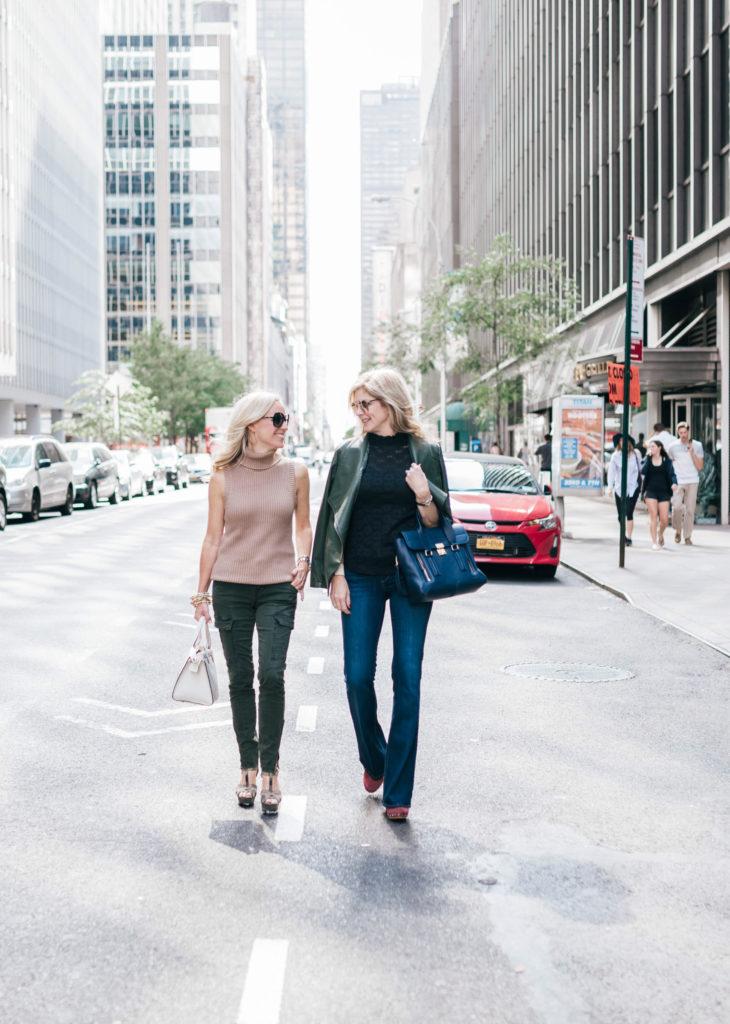 Alicia Wood, Tanya Foster, Dallas Blogger, New York Fashion Week, Street Style at NYFW