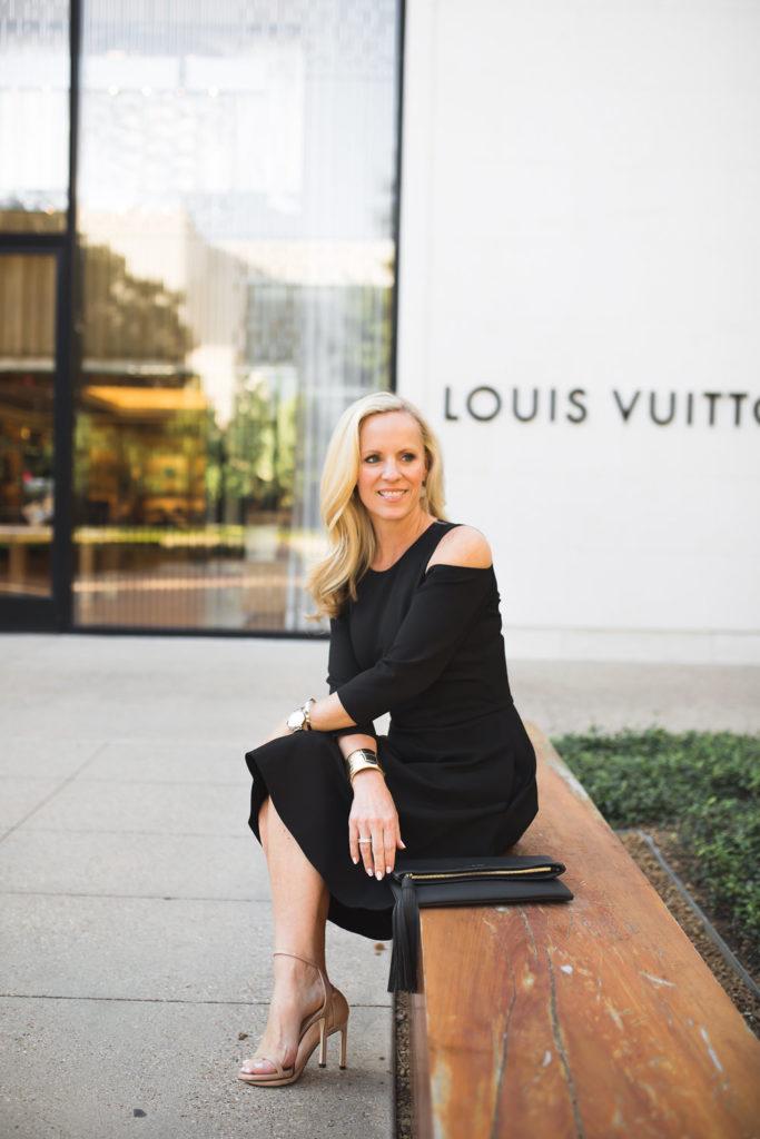 Alicia Wood, Dallas Style Blogger, Dallas Fashion Blogger, Dallas Lifestyle Blogger, Eliza J Dresses, Cold Shoulder Dress