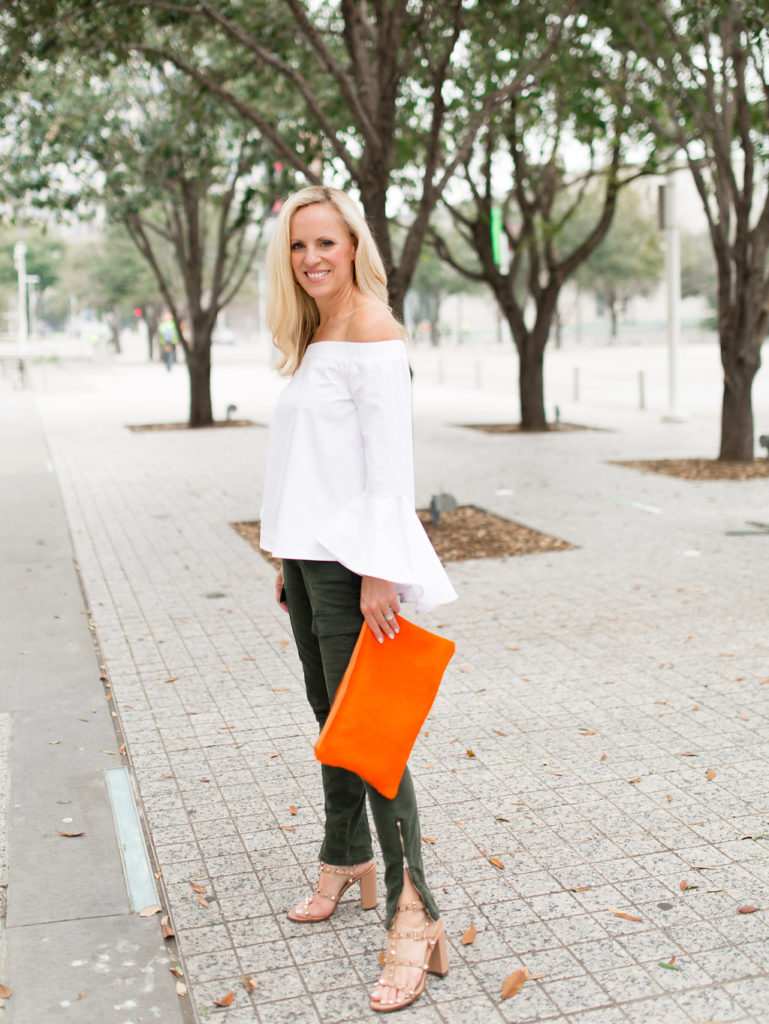 Alicia Wood, Dallas Lifestyle Expert, Dallas Lifestyle Blogger, Parker and Hyde Cowhide Clutch