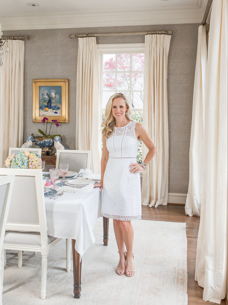 Alicia Wood, Dallas Lifestyle Blogger, Juliska Tablescape, Elegant Easter Tablescape
