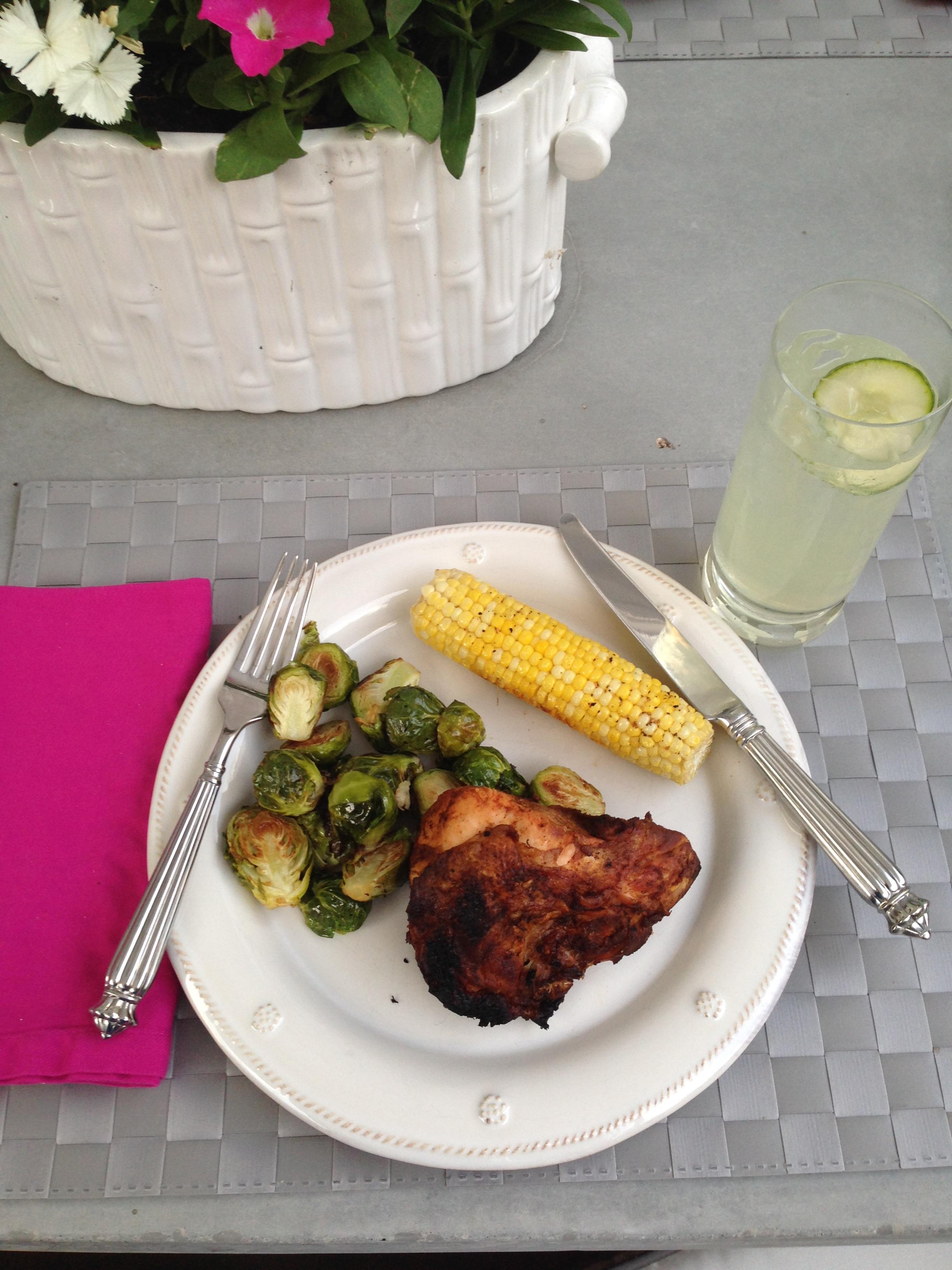 Barbecue Chicken, Best Barbecue Chicken, BBQ Chicken, Dallas Food Blogger, Wicker's Barbecue, Summer Barbecue, Summer BBQ