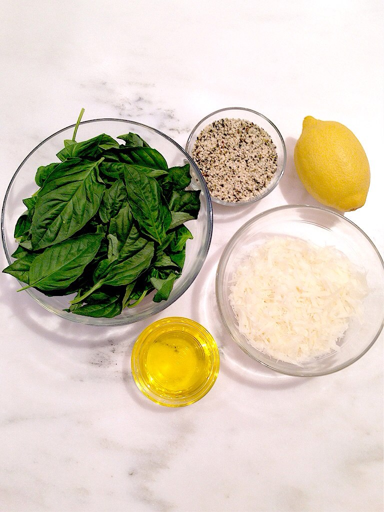 nut free pesto recipe