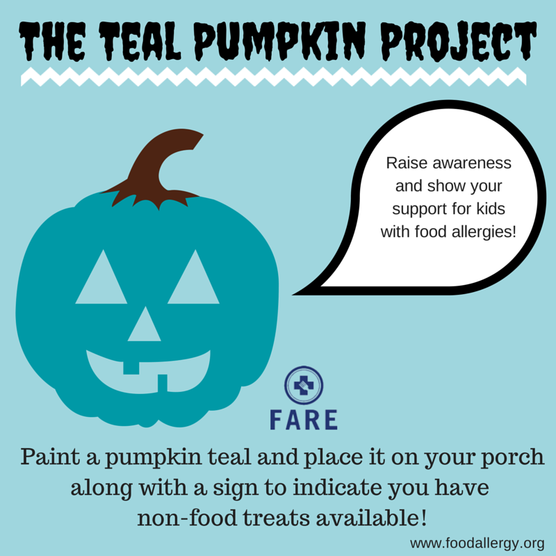 Do this weekend teal pumpkin project the lush list for Project weekend