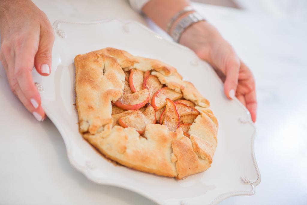 Gluten Free Apple Galette
