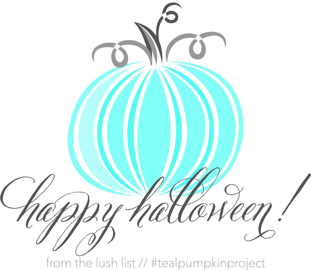 Happy Halloween from TLL #tealpumpkinproject