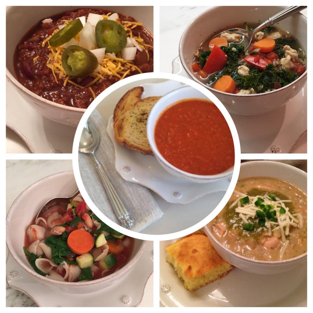 Warm Winter Soups Roundup