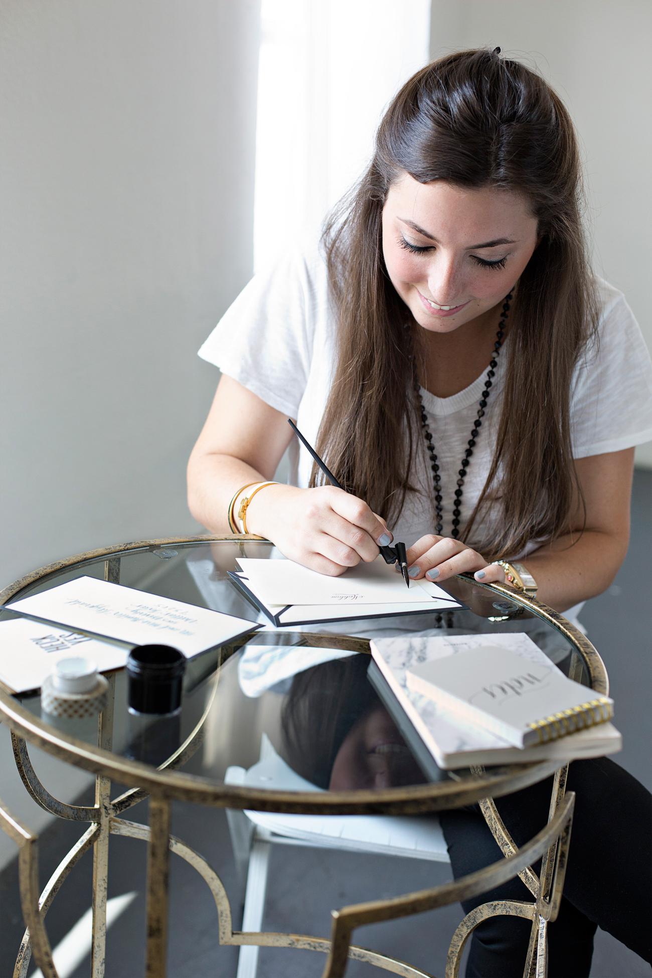 Madeleine Calligraphy The Lush List Dallas Lifestyle