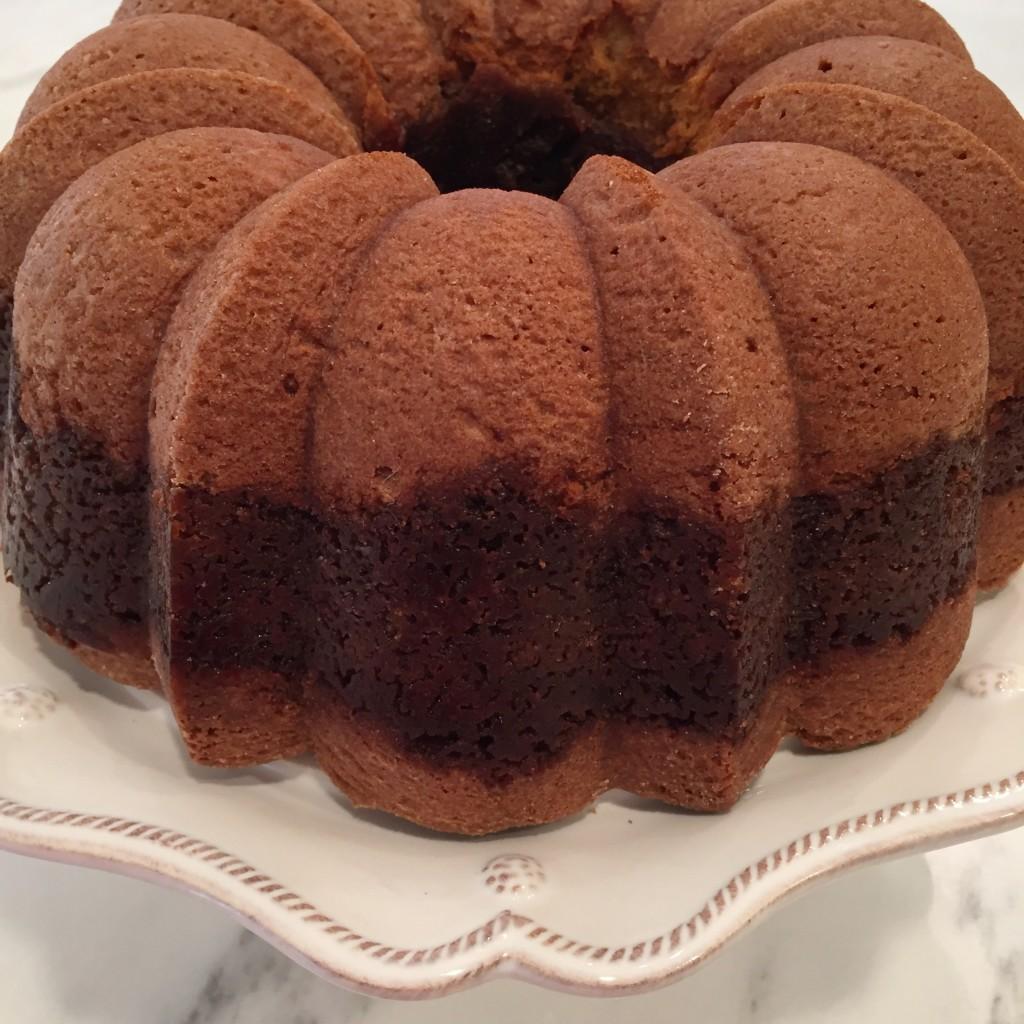 Sea Salt Caramel Pumpkin Bundt Cake