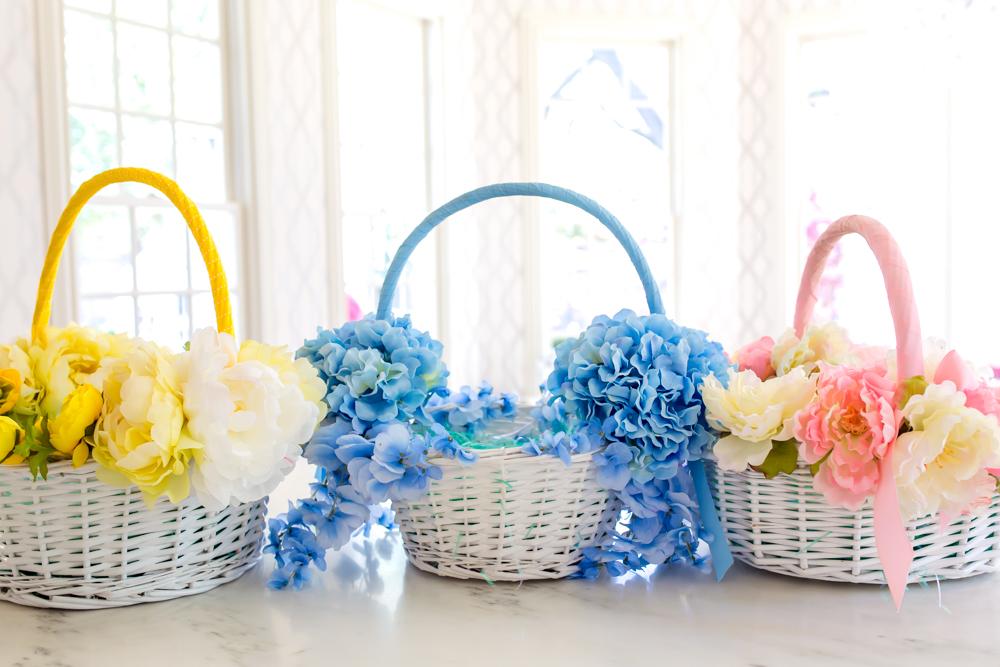Weekend DIY: Floral Easter Basket