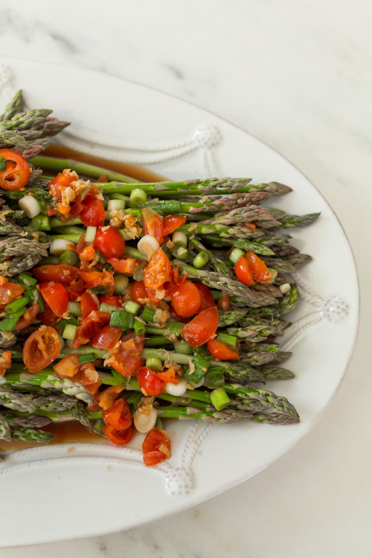 Gingered Asparagus