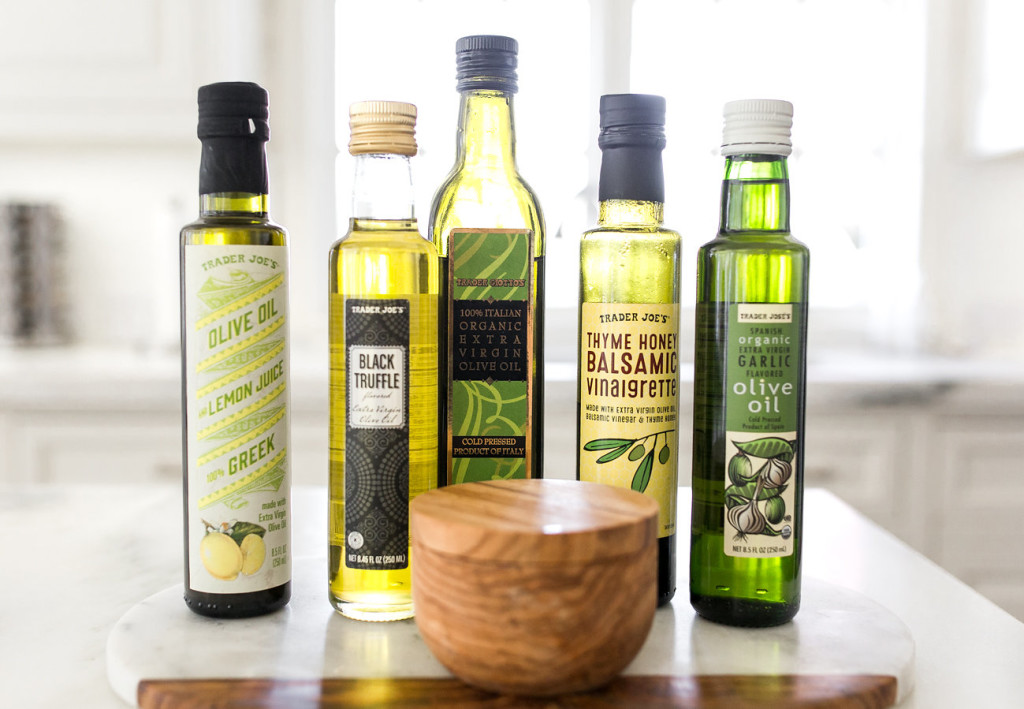 My Favorite 5: Great Oils from Trader Joe's