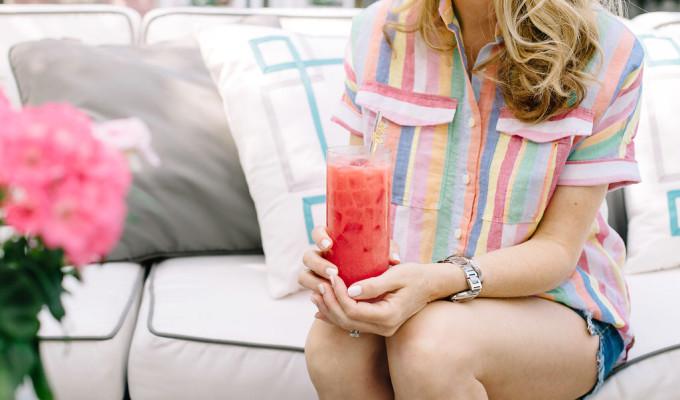Make This Weekend: Raspberry Lemonade