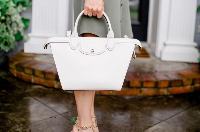 White handbag, White summer Handbag, Summer Handbag, Dallas Fashion Blogger, Alicia Wood