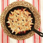 Cherry Pie, Skillet Pie, Dallas Food Blogger, Dallas Food Blog, Dallas Lifestyle Blog, Dallas Fashion Blog, Fresh Cherries, How to make a skillet pie