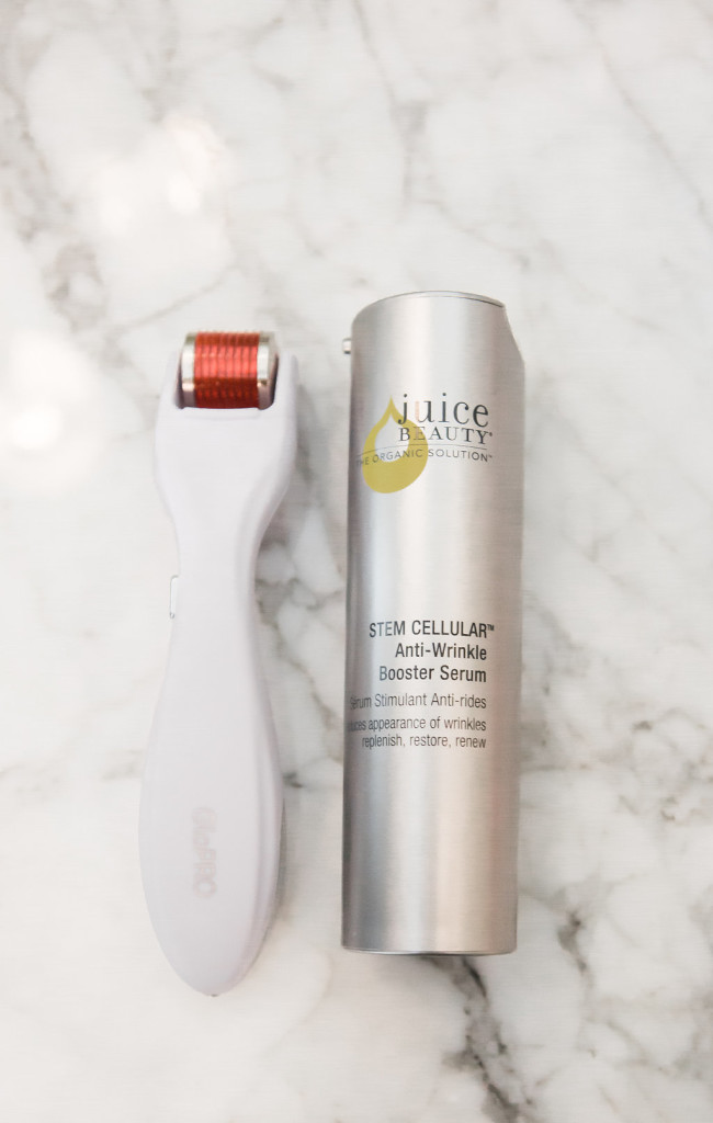 Beauty BioScience, Jamie O'Banion, GloPro Microneedling Facial Tool, Dallas Beauty Blogger, Dallas FAshion Blog, Clean Beauty, At Home Beauty Ritual, Juice Beauty Stem Cellular Anti-Wrinkle Booster Serum