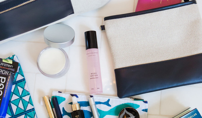 Wanderlust Wednesday: The Best Travel Tote And My In-flight Essentials