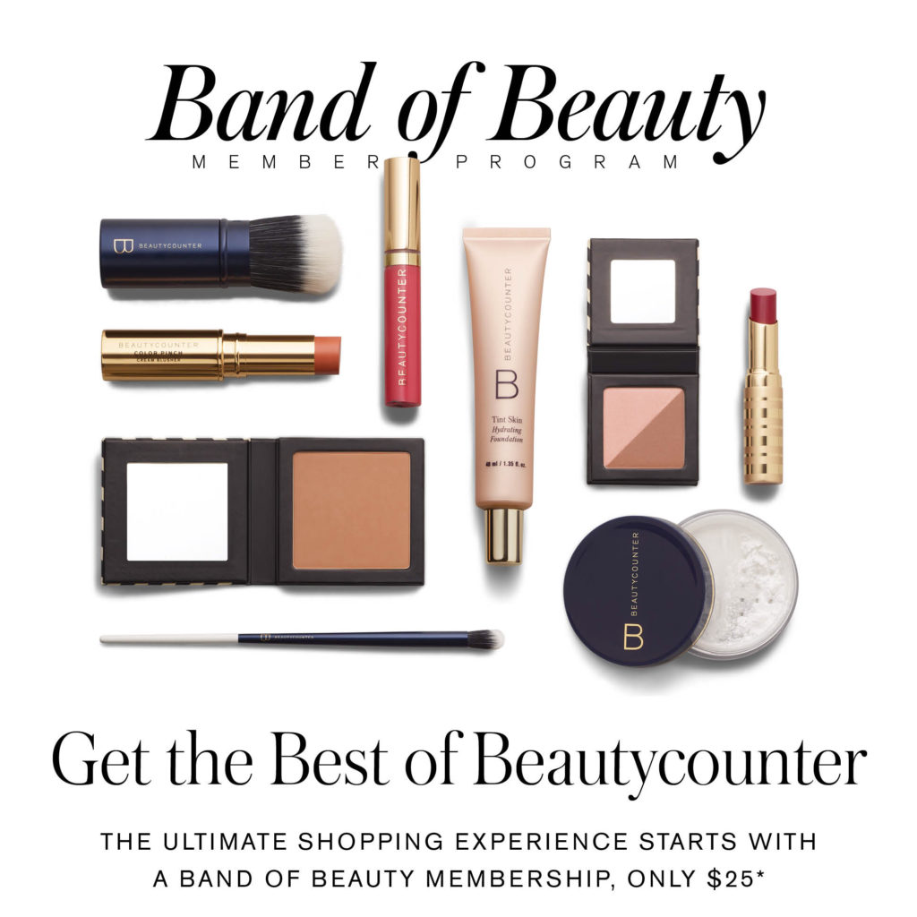 Beautycounter Band of Beauty, Beautycounter rewards program, Band of Beauty, Clean Beauty, Alicia Wood, Dallas Beauty Blog, Dallas Beauty Blogger