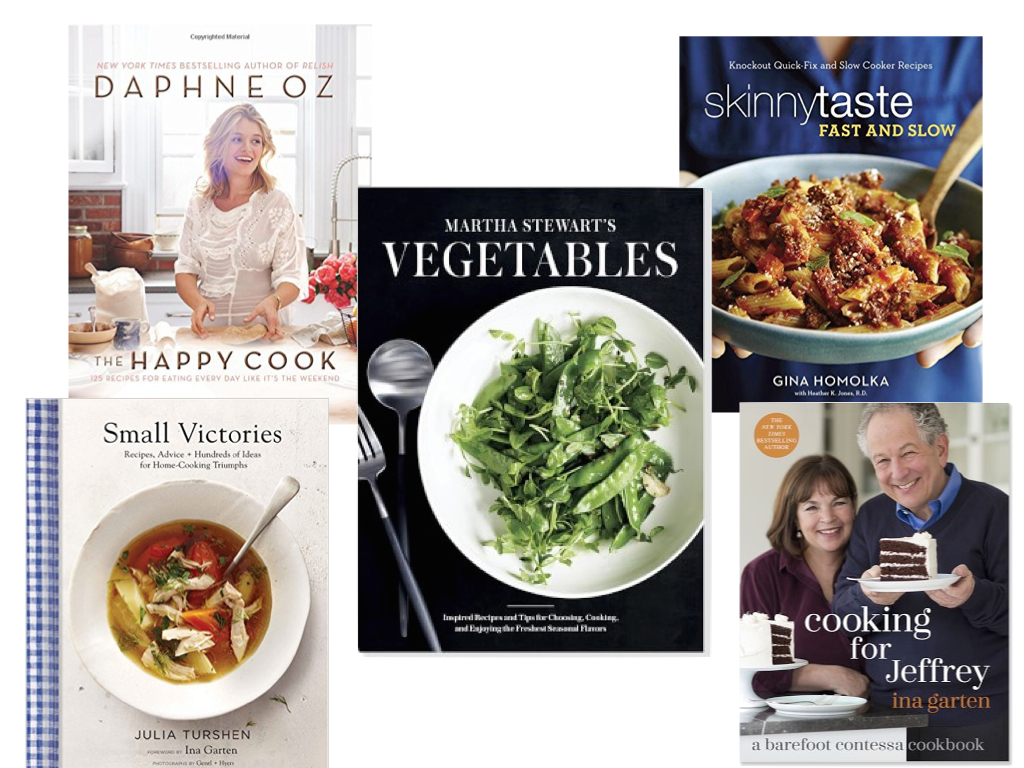 My Favorite Five: Fall Cookbooks