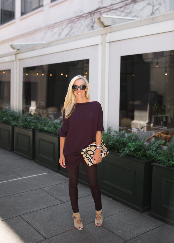 Alicia Wood, Dallas Fashion Blogger, Dallas Style Blogger, Neiman Marcus Last Call Sale, Bordeaux Sweater, Knox Henderson Area