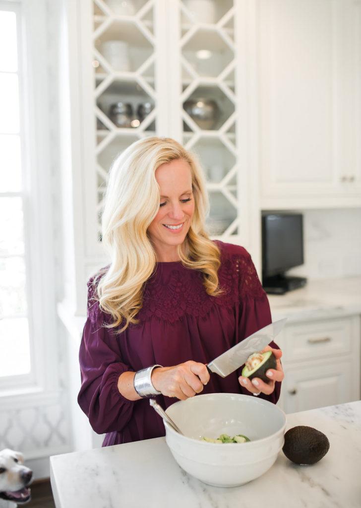 Alicia Wood, Dallas Food Blogger, Pomegranate Guacamole