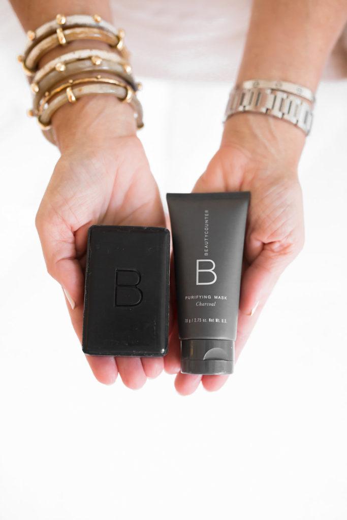 Beautycounter Charcoal Facial Bar, Charcoal Face Mask, Best at Home Facial, Spa Facial at Home, Best Charcoal face mask, Best Charcoal cleanser