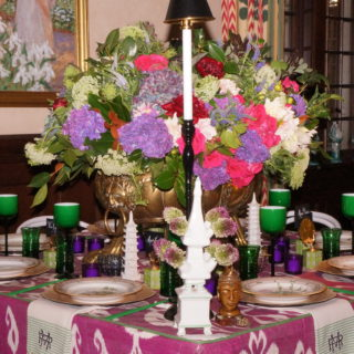 Kappa Tablescapes Dallas, Margaret Ryder, Fleurt Floral Design