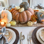Thanksgiving Centerpiece, Friendsgiving Table, Elegant Thanksgiving Table Decor, Easy Thanksgiving Table Decor, Simple Thanksgiving Table, White Dining Room