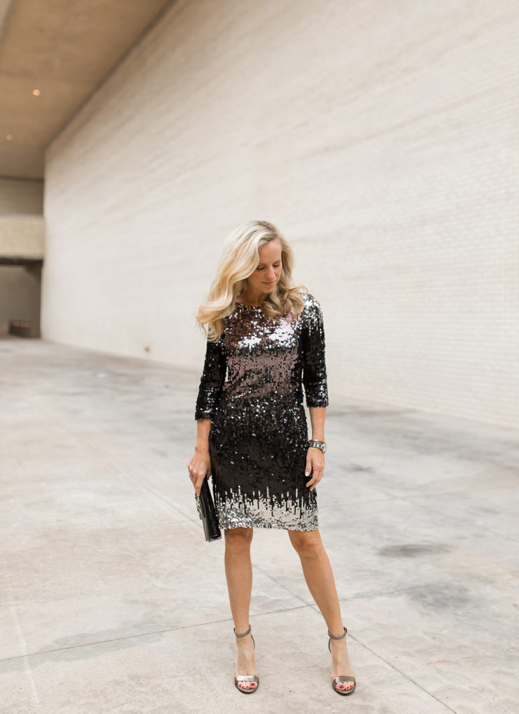 Alicia Wood, Dallas Lifestyle Blog, Dallas Lifestyle Blogger, Dallas Fashion Blog, What to Wear Newy Year's Eve, Dallas Fashion Blogger, BB Dakota Sequin Dress