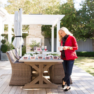 Alicia Wood, Dallas Fashion Blogger, Dallas Lifestyle Blogger, Perfect Hot Chocolate Bar, Oprah's Favorite Things 2016, Chevron Puffer Vest