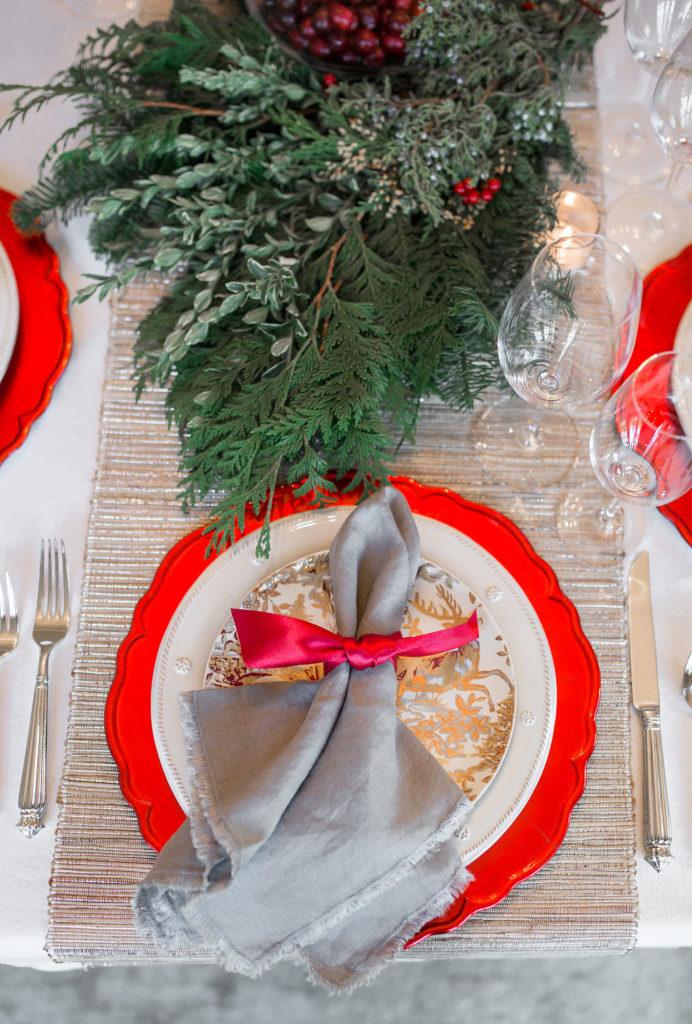 Elegant Christmas Tablescape 14