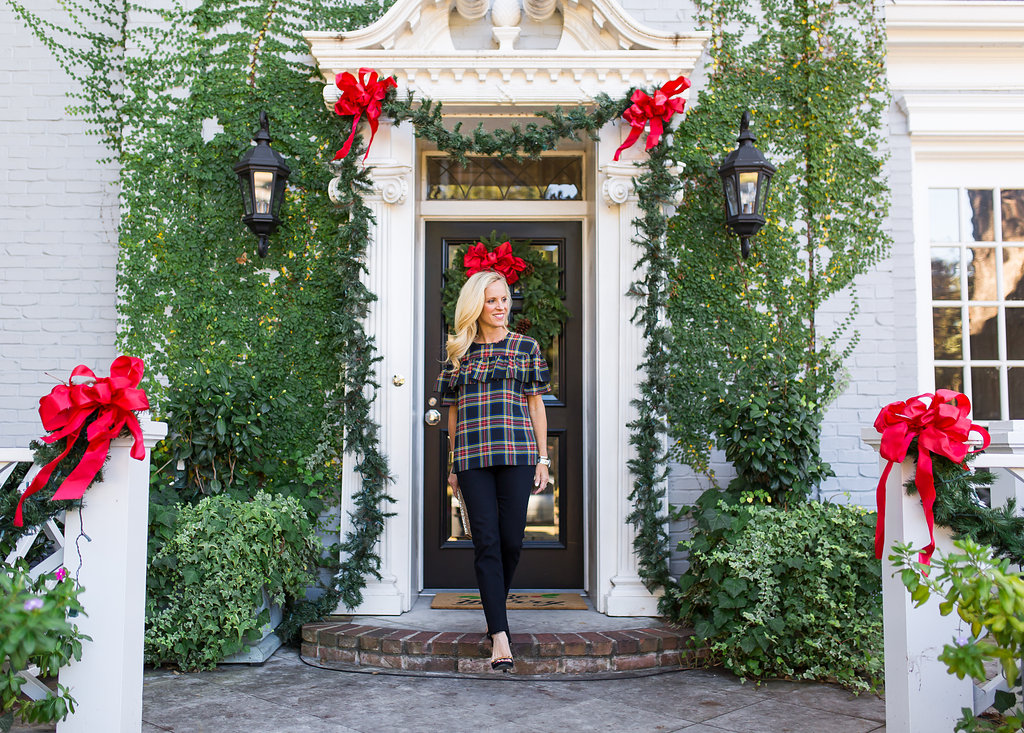 Styling Jeans for a Holiday Party