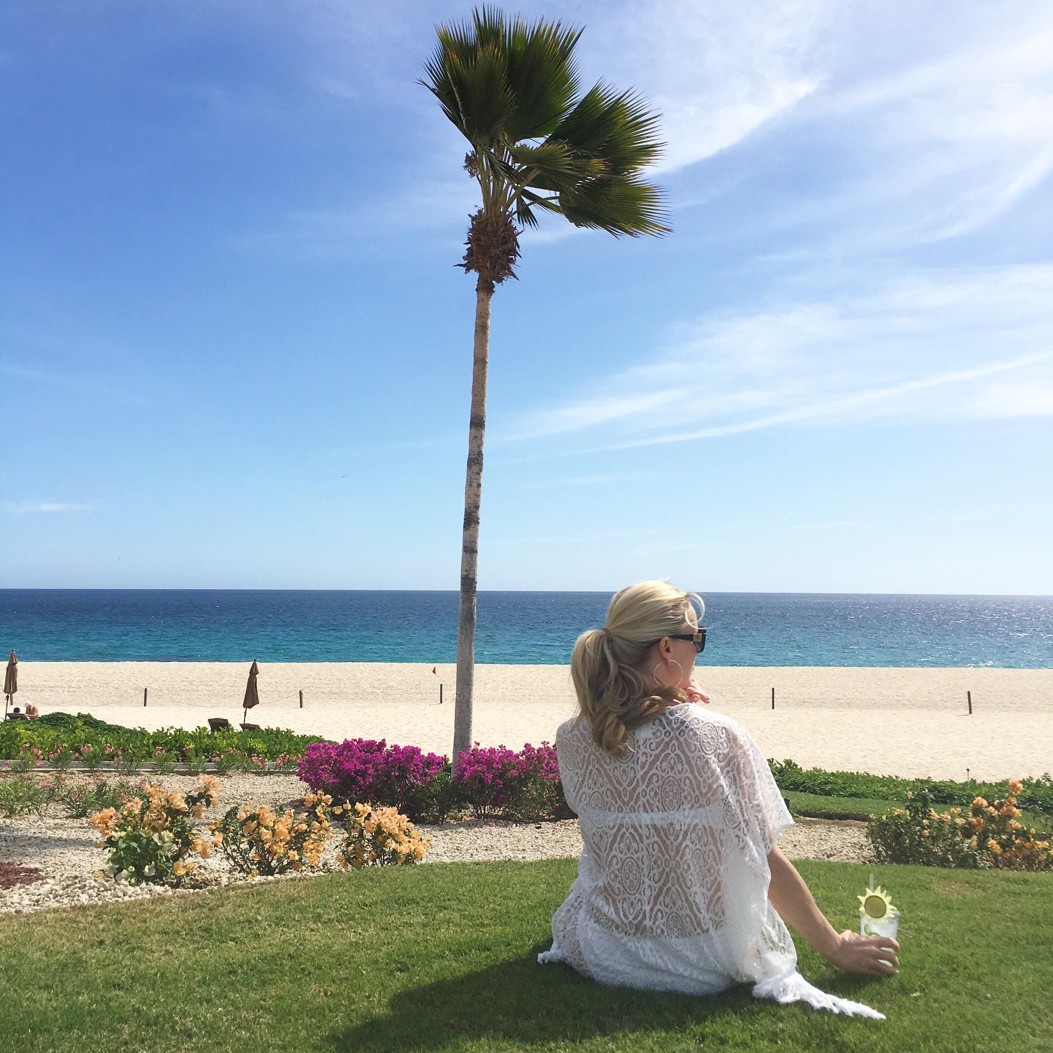On the Beach at Casa Del Mar Cabo