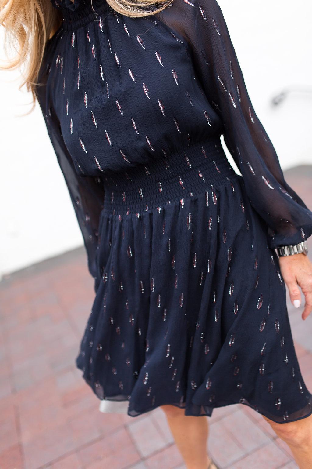 Rebecca Taylor chiffon dress, President's Day Weekend Sales