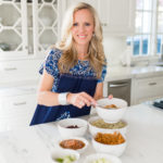 Alicia Wood, Dallas Lifestyle Blogger, Cauliflower Rice Bowl, Embroidered Mexican Top
