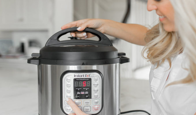 Instant Pot   Dinner Just A Few Minutes…Really!
