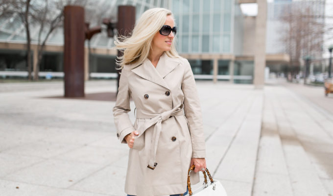 The Perfect Trench Coat   Spring Style Staple