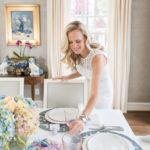 Alicia Wood, Dallas Lifestyle Blogger, Dallas Lifestyle Blog, Elegant Easter Table, Lilly Pulitzer Simona Dress