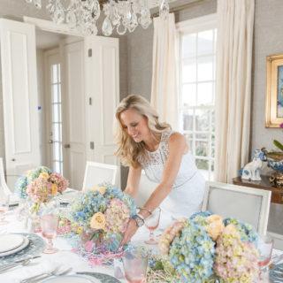 Alicia Wood, Dallas Fashion Blogger, Dallas Style Blog, Pastel Easter Table, Juliska Easter Tablescape, Juliska Easter Bunny Party Plates