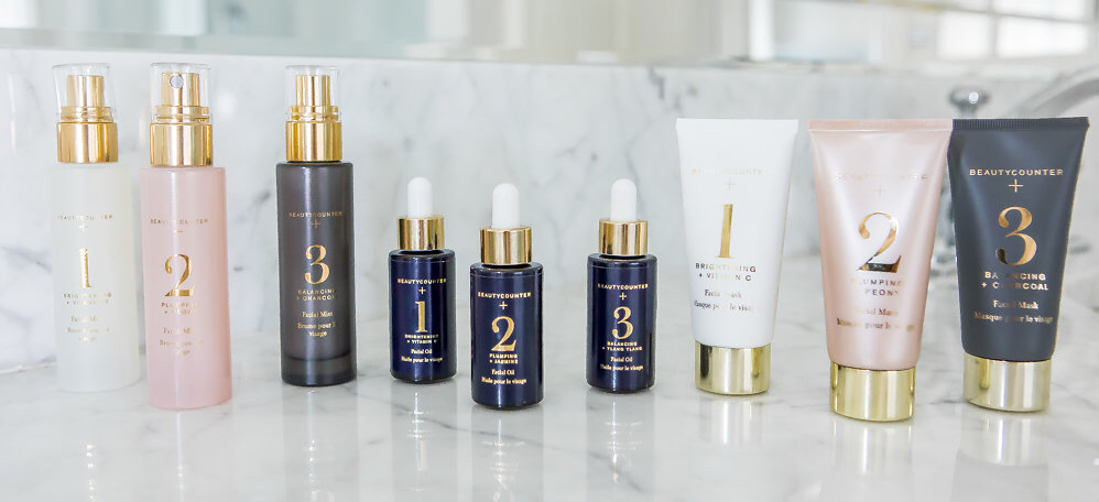 Beautycounter+ Targeted facial treatments