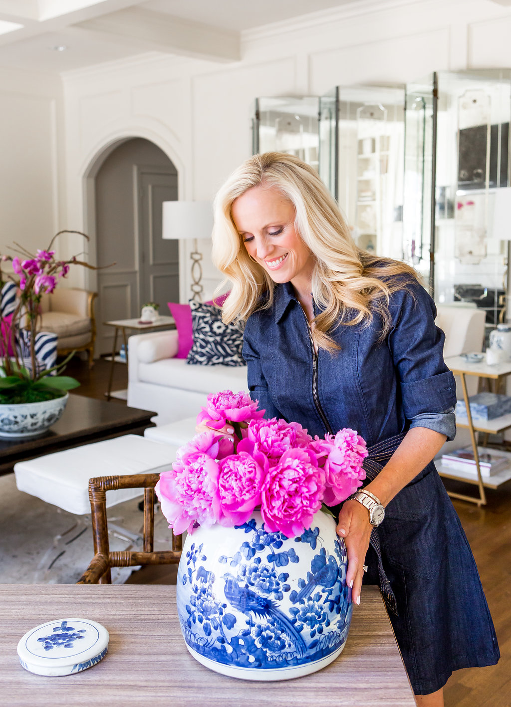Tips on Accessorizing The Family Room | Creating My Look with Wisteria