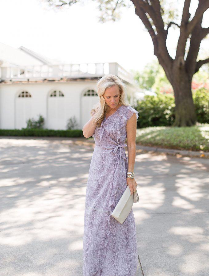 Alicia Wood, Dallas Fashion Blogger, Dallas Lifestyle Blogger, Dallas Lifestyle Expert, Banana Republic Snake Print Maxi Dress