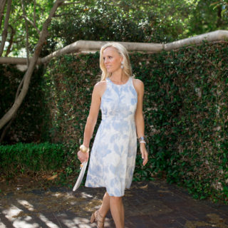 Alicia Wood, Dallas Lifestyle Blogger, Dallas Lifestyle Expert, Dallas Fashion Blogger, Banana Republic Petite Floral Dress