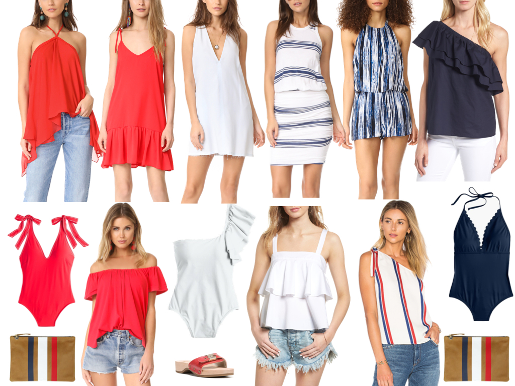 What to Wear to Celebrate July 4th