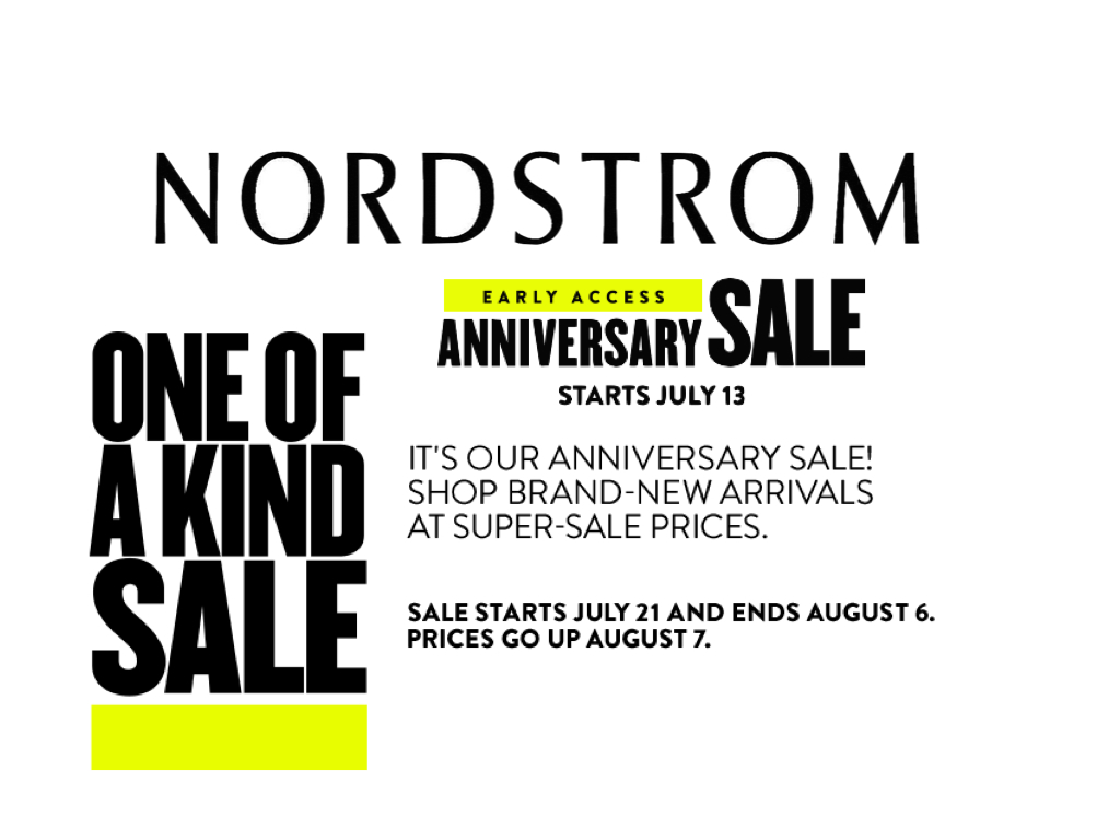 5 Tips for Shopping the Nordstrom Anniversary Sale like a Pro