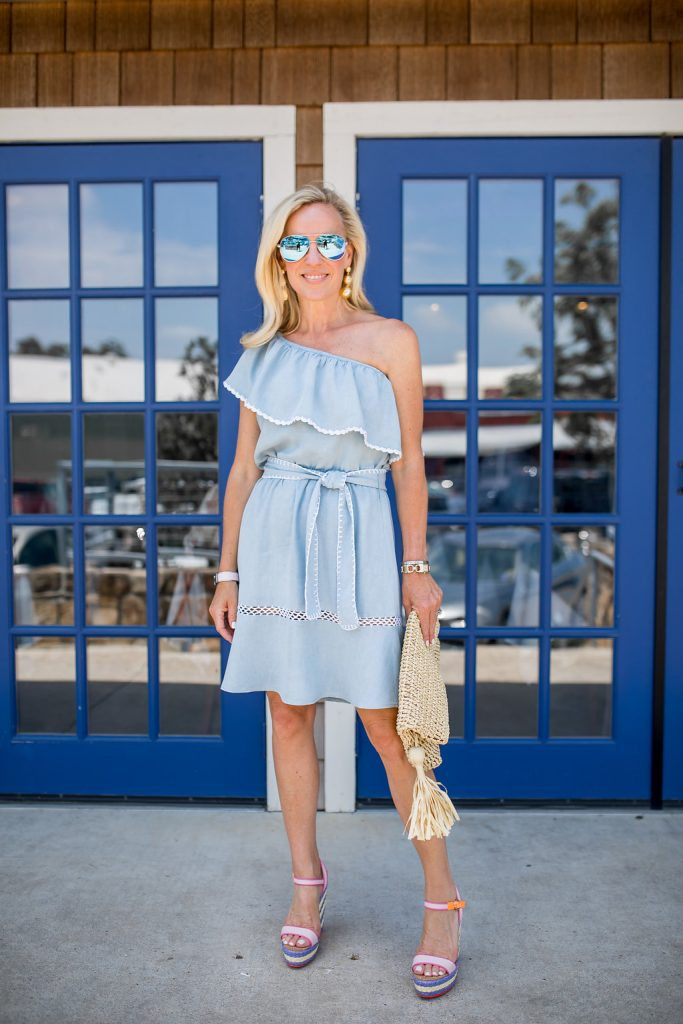 One Shoulder Dress | My Favorite Summer Trend