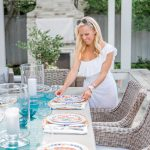 Alicia Wood, Dallas Lifestyle Expert, Dallas Lifestyle Blogger, Dallas Fashion Blogger, Juliska Melamine Dinnerware, Outdoor Entertaining