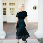 Alicia Wood, Dallas Lifestyle Blogger, Dallas Lifestyle Expert, Dallas Fashion Blogger, 3.1 Philip Lim Tie Waist Corset Dress, Givenchy Clutch, Givenchy Shark Lock Sandal